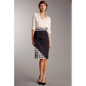 2b. RYCH Architectural Patternblock Pencil Skirt